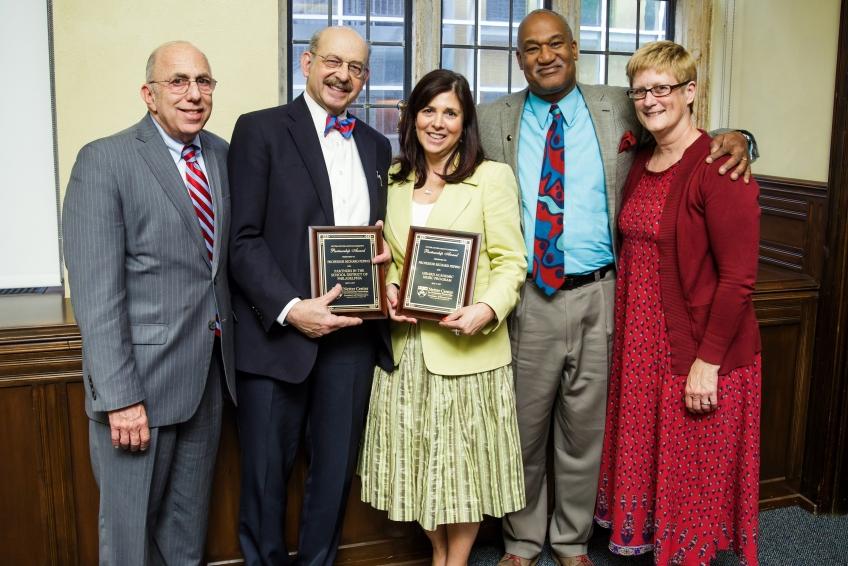 Photo of Faculty-Community Award Pepino Beavers Muller
