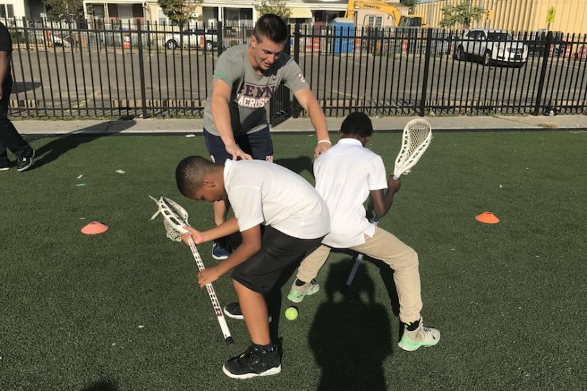 Boys Lacrosse Practice