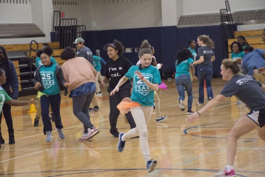 Hamilton Students at Netter Center 25th Anniversary Partnership Festival