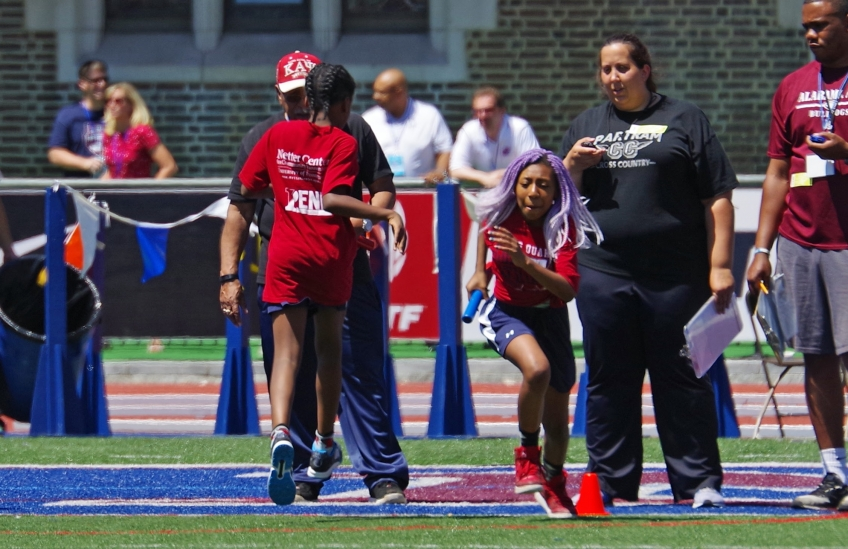 Young Quakers Track and Field Time Trials at Penn Relays 2017 photo